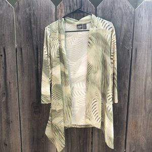 Traveler's Collection Chico's coverup Bamboo sze 1